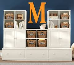absolutely playroom storage system cameron 3 cubby drawer base 2 cabinet set pottery barn kid idea