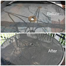 spray painting metal furniture12 Outdoor Furniture Makeovers  Easier Than You Think