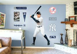 new york yankees wall decals life size judge fathead wall decal shop new  judge fathead wall . new york yankees wall decals ...
