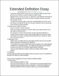 definition essay examples extended definition essay juniors extended definition essay ideas