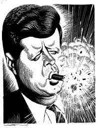 bay of pigs a major mishap in the kennedy administration  cigar blowing up in kennedy s face