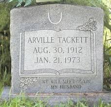 Arville Tackett (1912-1973) - Find A Grave Memorial
