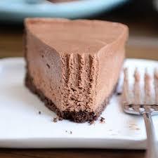 chocolate cheesecake recipe. Fine Recipe NoBake Creamy Chocolate Cheesecake To Recipe W