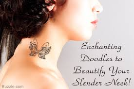 Gorgeous Neck Tattoos For Girls That Youll Simply Love To Flaunt