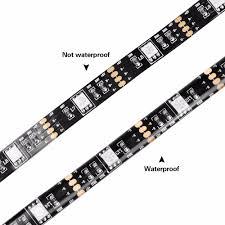 rgb usb led strip backlight lighting for hdtv desktop flat screen lcd tv pc bias lighting 5v 1m 2m 3m 4m 5m 5050 smd decor lamp in led strips from lights