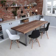 custom walnut dining table dark walnut dining room chairs walnut veneer dining table