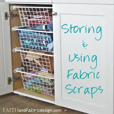 Fabric Scraps Storage & Scrappy Quilt Block – Faith and Fabric & Let's talk fabric scraps! If you sew, you have them. I'm excited to join in  with a great group today to share our ideas on how to store and use fabric  ... Adamdwight.com