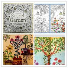 secret garden coloring book amazing garden lights