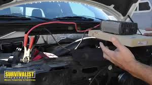connecting a power inverter to a car battery