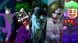 Evolution of Joker in Games 1986-2018 - YouTube