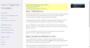 Getting Started With Ionic 2 Apps In Visual Studio