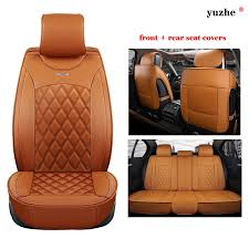 yuzhe leather car seat cover for
