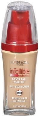 l oreal paris infallible advanced never fail makeup buff beige 1 0 ounces