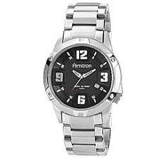 men s watches kmart armitron men s silver tone black dial bracelet watch