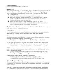 citation handout citing sources the least you need to know