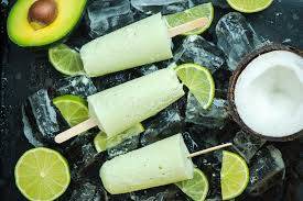 Image result for avocado and coconut popsicles