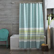 wonderful green stripe shower curtain gallery bathtub for with blue and designs 21