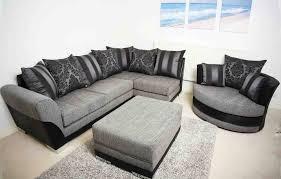 brand new stylish modern vermont corner swivel cuddle chair sofa set