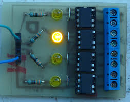 building a four channel solidstate relay 3 steps