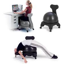 ility ball desk chair size yoga exercise sivan health fitness balance exercise ball desk chair