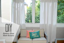 Diy Drop Cloth Curtains Diy Outdoor Drop Cloth Curtains Baby Shopaholic