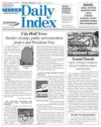Tacoma Daily Index February 14 2014 by Sound Publishing issuu