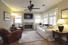 ... Living Room, Urban Gray Ceiling Fan With Lamp Design For Affordable Living  Room Ceiling Decor ...