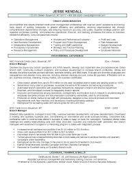 Bank Manager Resume Template Lezincdc Com