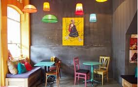 Cafe decor includes items like a bird cage, a quirky lamp which is painted.  The costume should also combine with the decor and give a complete feel to  the ...