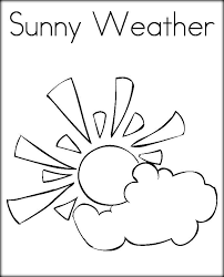25 Weather Coloring Pages - ColoringStar