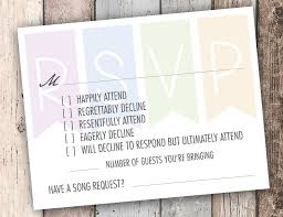 How To Reply To Wedding Rsvp Card This Funny Rsvp Card Has An Answer For Every Smart Ass On