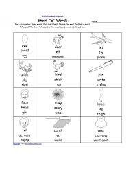 Free Kindergarten Spanish Worksheets Learning The Basics Of Short ...
