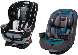 the size and weight of each car seat here the available colors on each model the suitable uses and height weight limits of each model