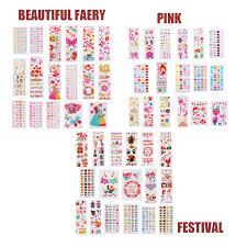 детские наклейки для ногтей татуировки набор детский сад мальчик девочка