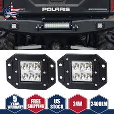 High Intensity Backup Lights Details About Dot Led Lights Flush Mount Backup Reverse Front Rear Bumper Cube Pods Fog Lamp