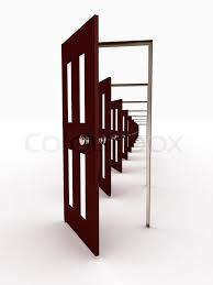 many open doors. Contemporary Open And Many Open Doors _