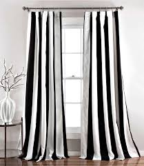 Delighful Black And White Curtains My Favorite For Design Decorating