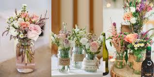 Wedding table flower ideas