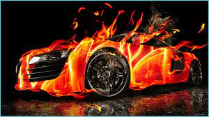 Cool HD Wallpapers Cars On Fier ...