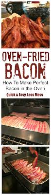 Fast Cooking Ovens Best 25 Oven Cooked Bacon Ideas On Pinterest Oven Bacon