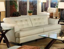 White Leather Chairs For Living Room Furniture Genuine Leather Sofa For Excellent Living Room Sofas