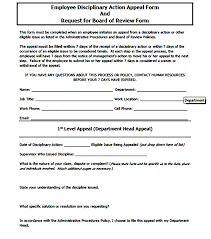 Form To Write Up An Employee Printable Employee Write Up Form Resume Builder