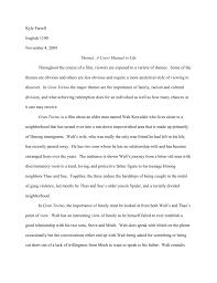 gran torino essay kyle thomas farrell