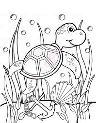 Small Picture Under The Sea Coloring Pages For Pre KThePrintable Coloring