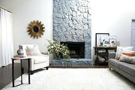 paint rock fireplace part a simple guide to painting stone painted fireplaces pictures attractive 7