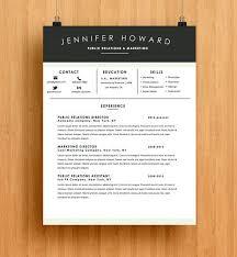 Modern Resume Templates Word Custom Modern R Sum Template Resume Template