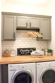 laundry cabinet dark grey cabinets pulls