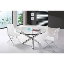 Modern Round Kitchen Tables Vig Furniture Vglet08 Modrest Frau Modern Round Dining Table In