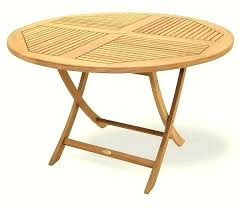 wooden folding garden table small folding garden table unique round wood patio table wooden outside tables