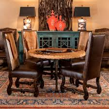 Dining Room High End Rustic Furniture Adobeinteriorscom